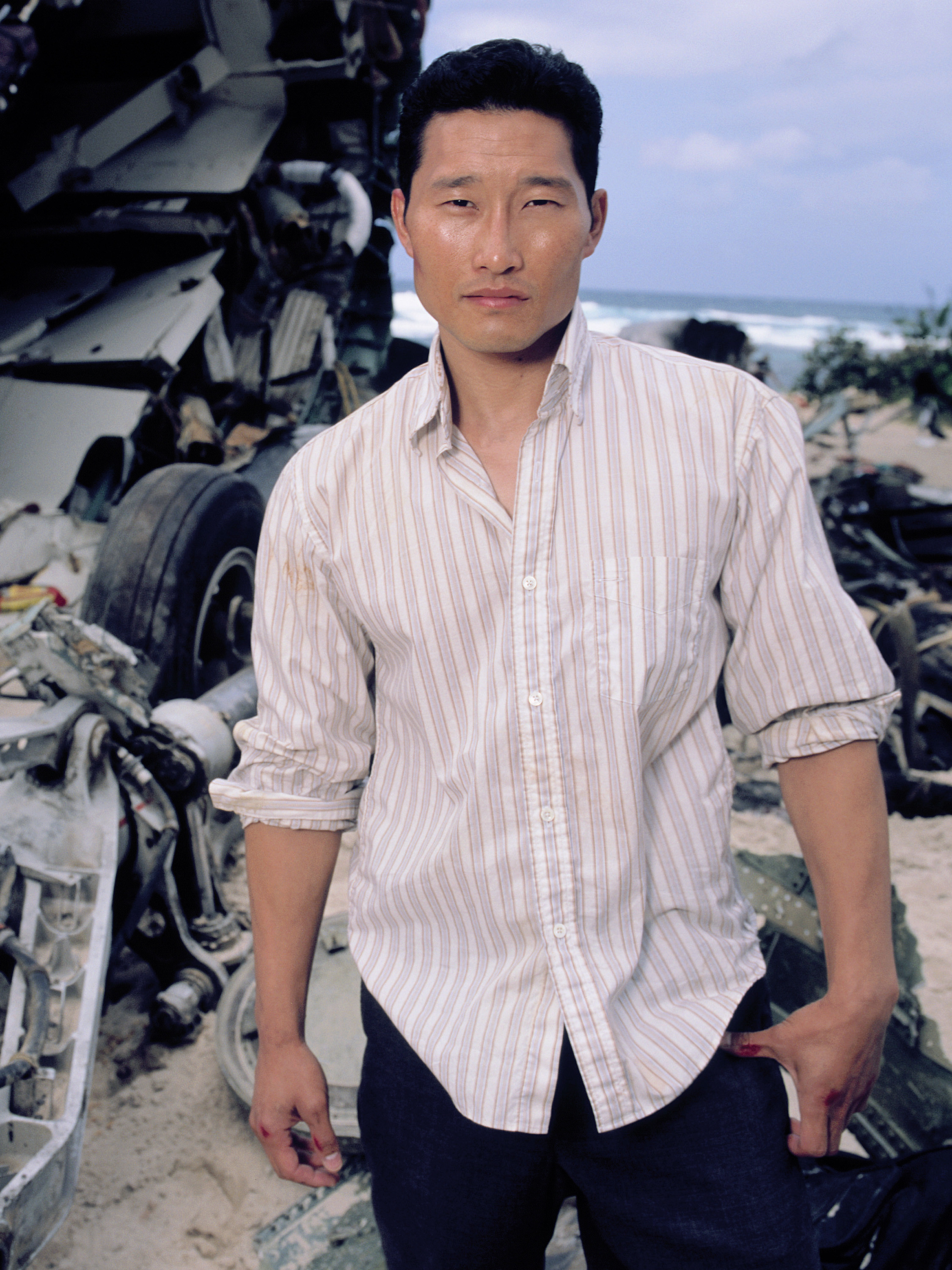 Kim in a promo image for the TV show Lost