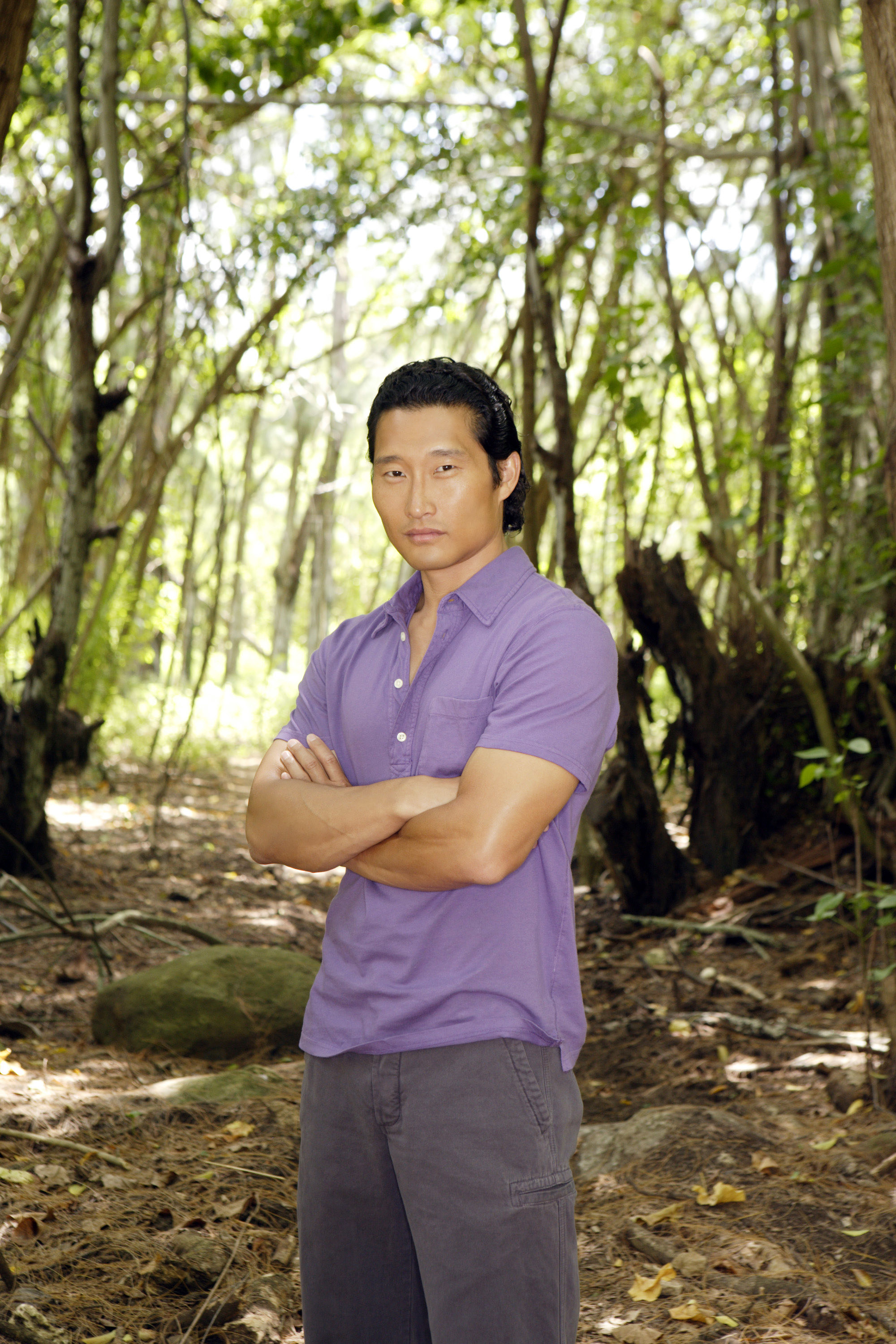A promo image of Kim from the TV show Lost
