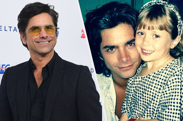 John Stamos Shared The Heartwarming Story Behind His Throwback Photo With Elizabeth Olsen