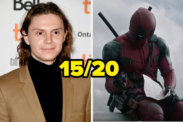 Here Are 20 Popular TV Shows And Movies — Do You Know Which Ones Evan Peters Has Starred In?