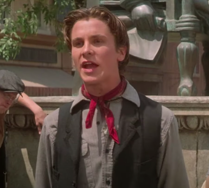 17-year-old Christian Bale starred in his first and last musical
