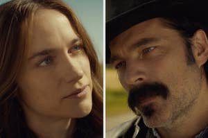 Wynonna and Doc from Wynonna Earp