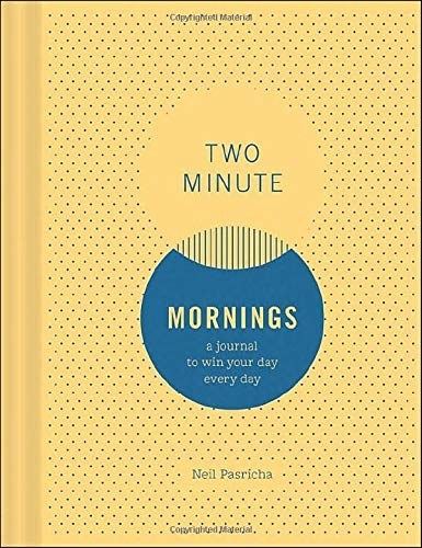The cover of Two Minute Mornings