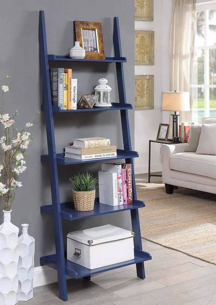 the ladder shelf