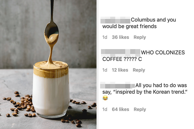 A US Company Apologized After Taking Credit For The Viral Korean Dalgona Coffee Trend