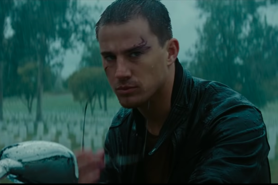 Channing portrayed the beloved character as a brooding soldier