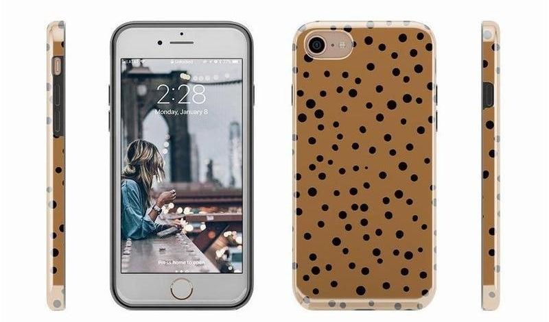the leopard print phone case