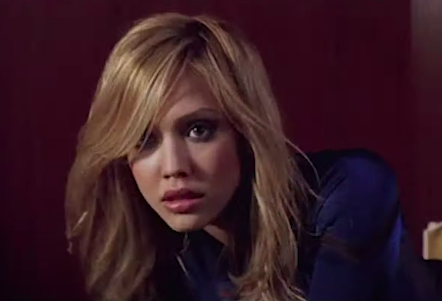 Jessica played Susan Storm, aka Invisible Woman