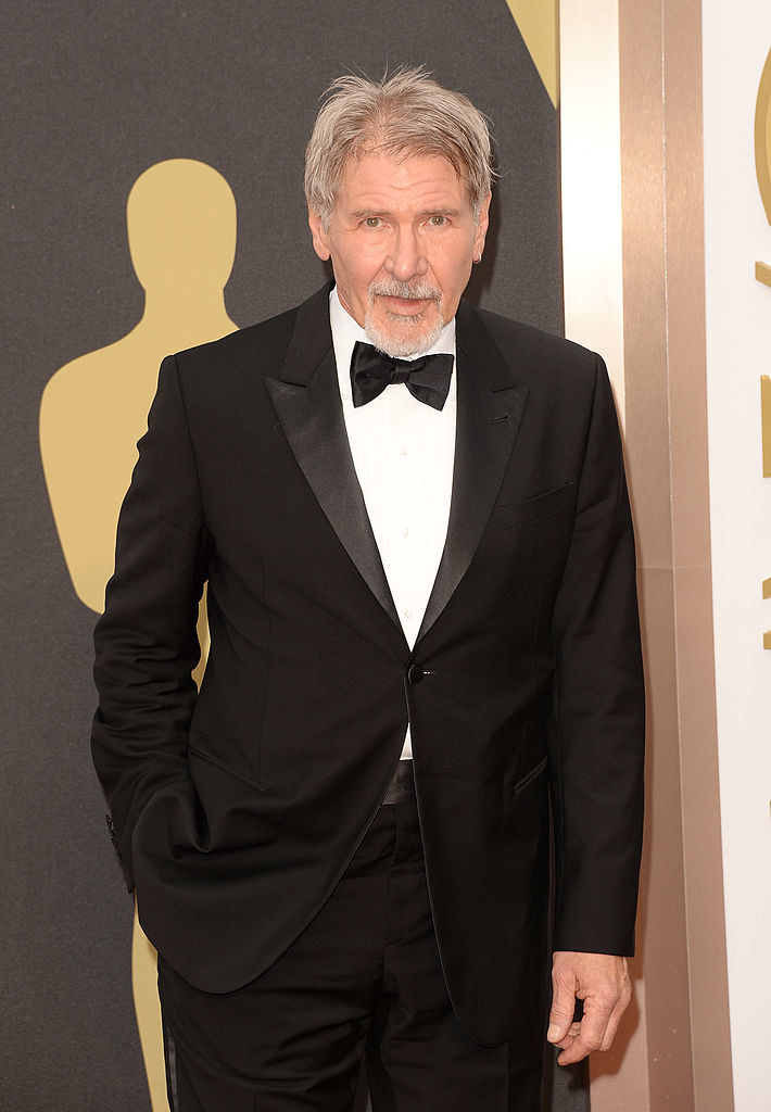 Harrison Ford attends the Oscars