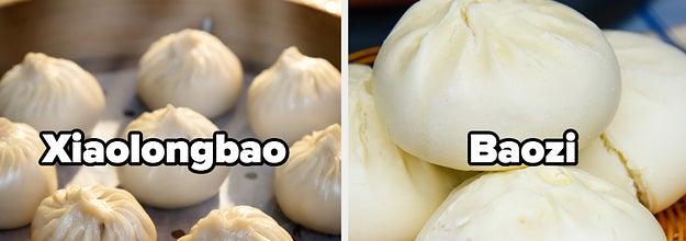 Xiaolongbao and baozi