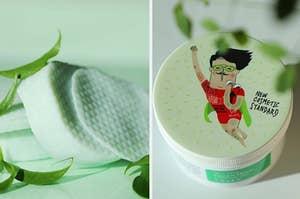 green tea pads