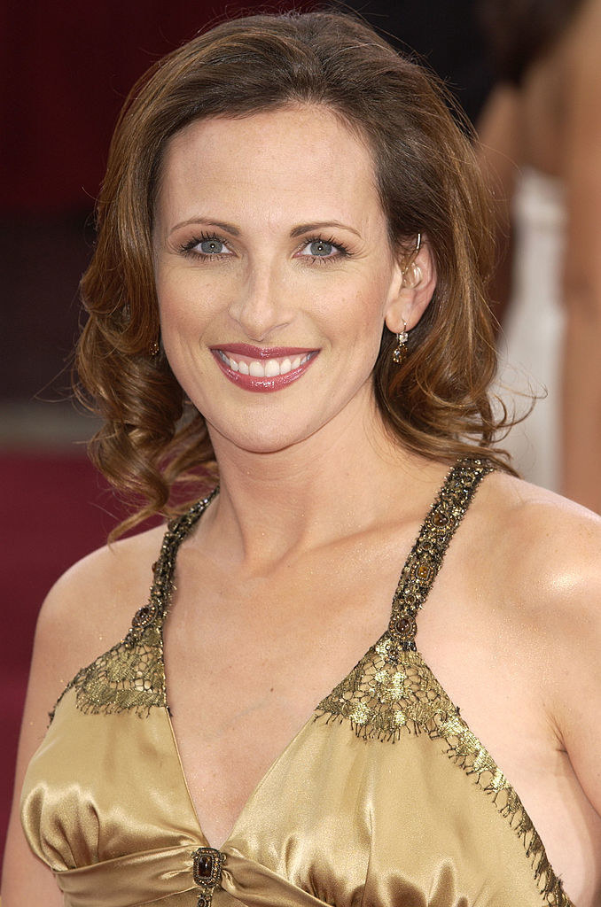 Marlee Matlin during The 75th Annual Academy Awards