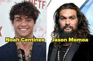 Noah Centineo and Jason Momoa