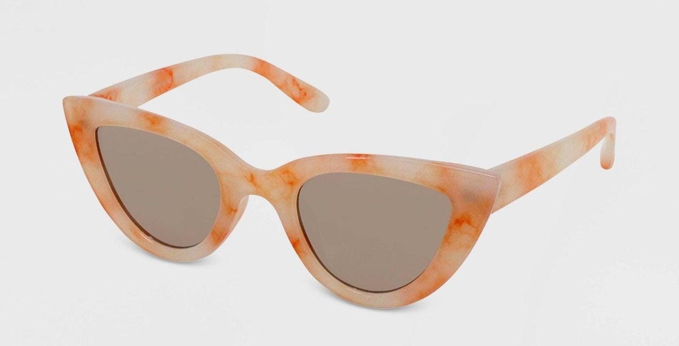 tie-dye print sunglasses