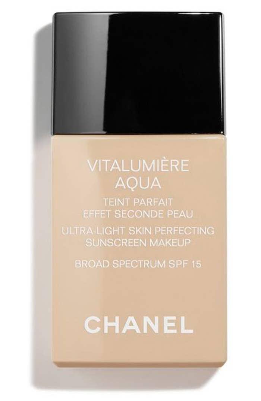 bottle of the sunscreen makeup