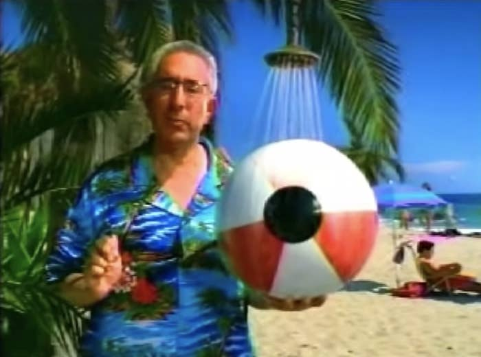 ben stein in clear eyes commercial