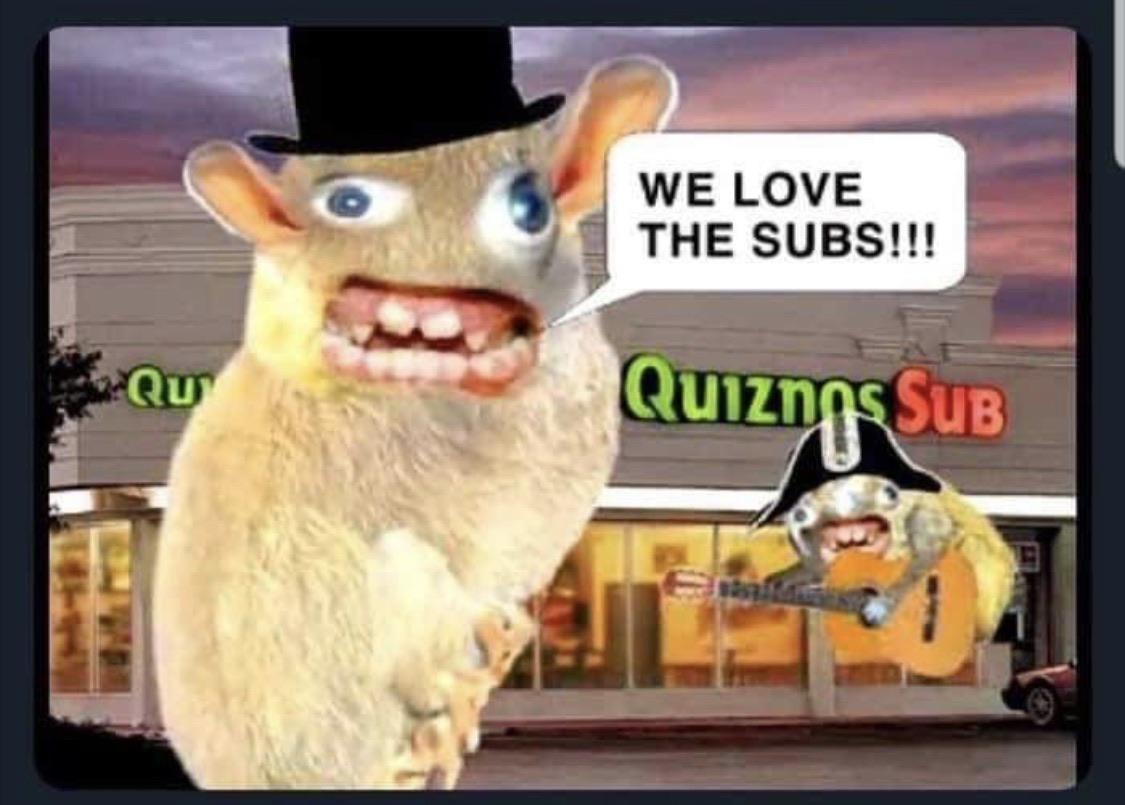 quiznos commercial