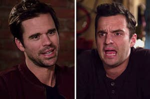 """Sam and Nick from """"New Girl"""""""