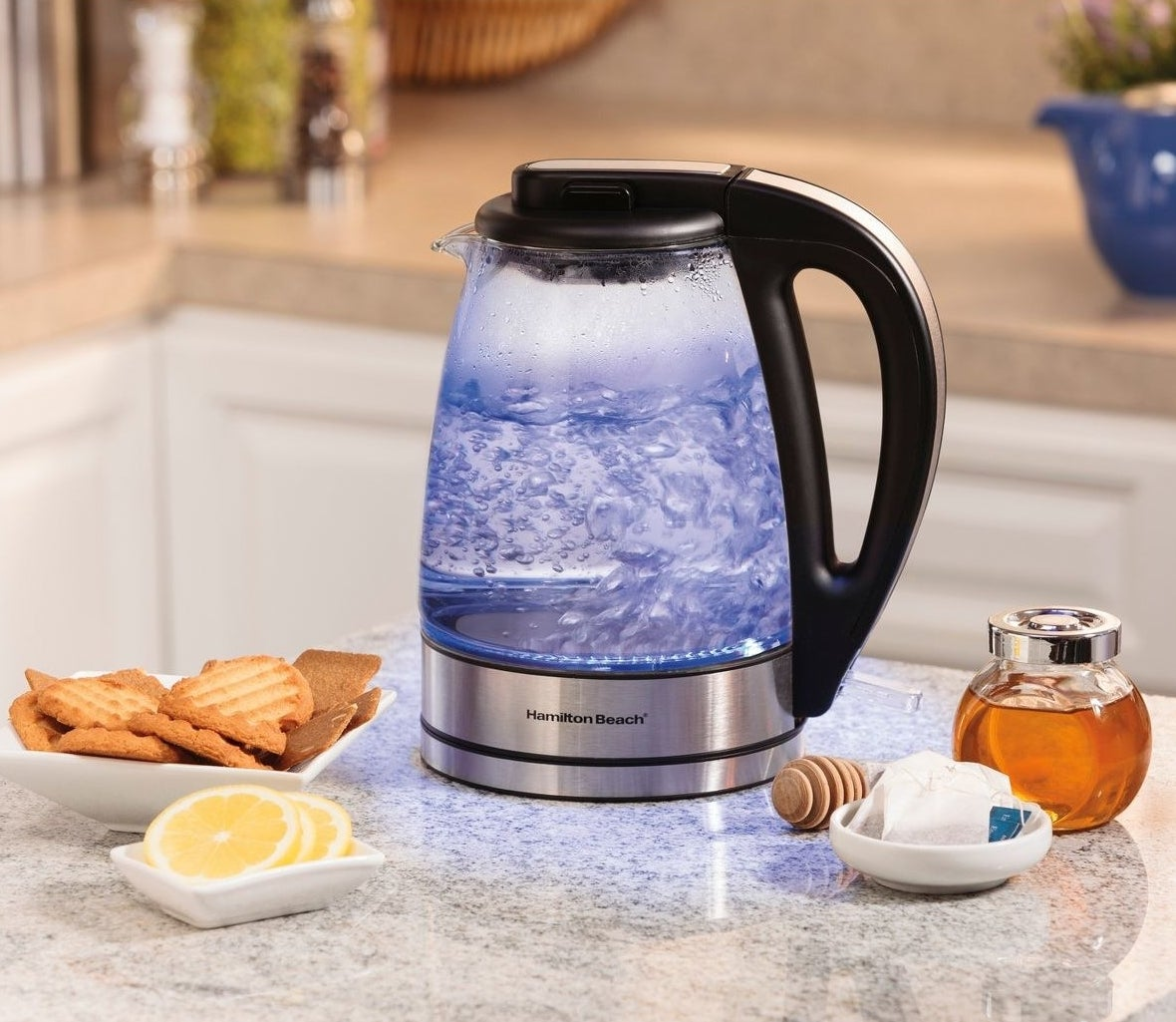 The electric kettle