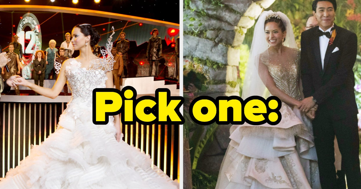 You Have To Choose Between Two TV And Movie Wedding Dresses, And I