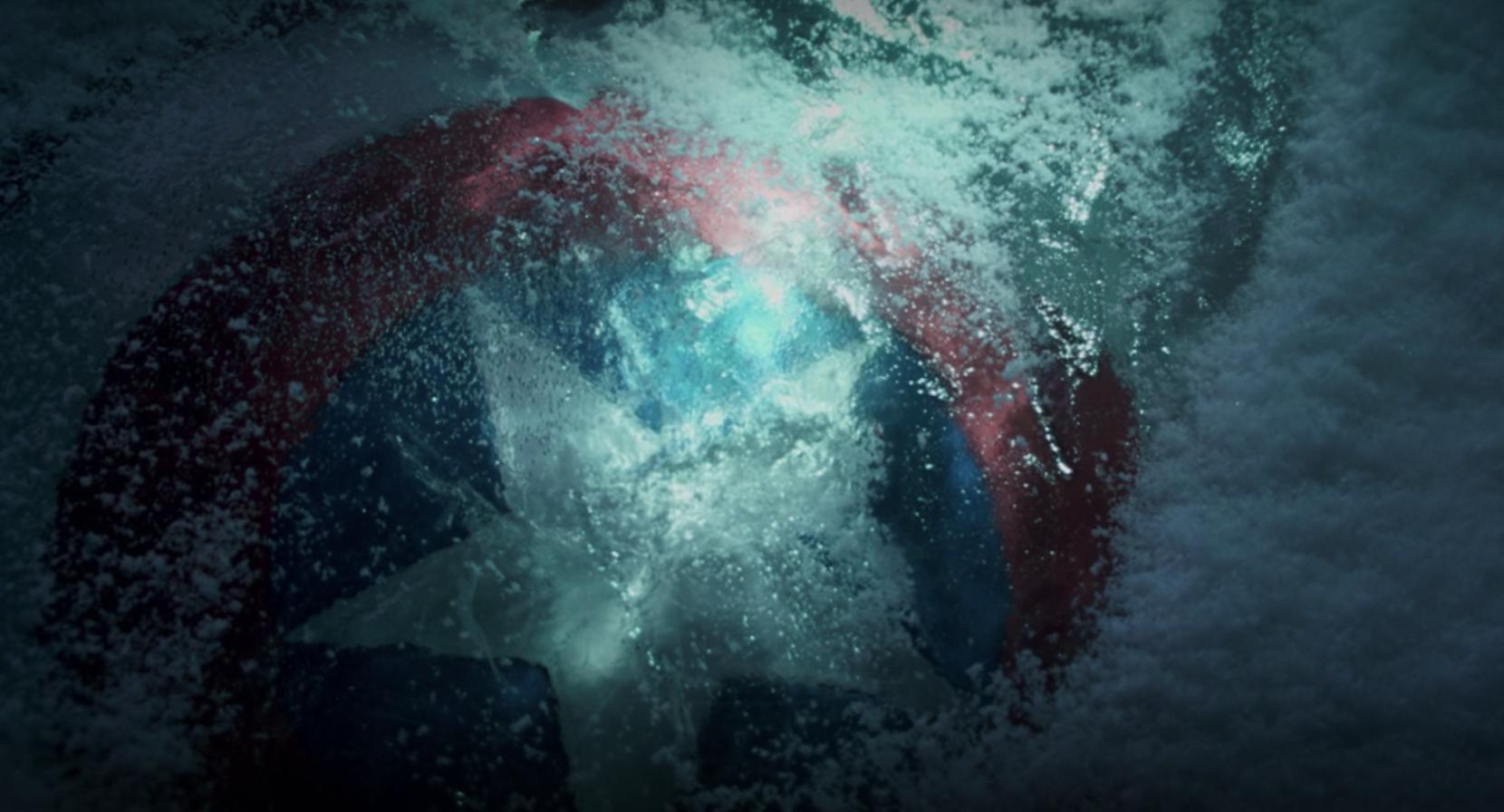 Cap's shield frozen
