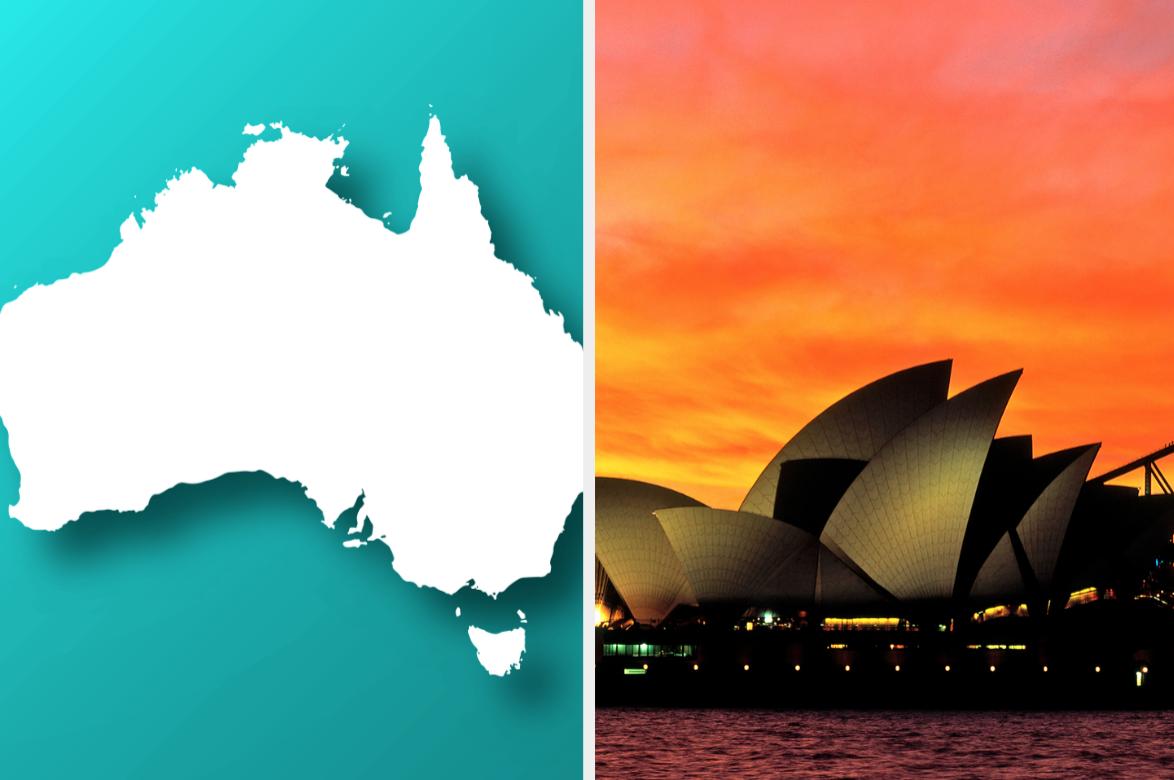 Australia and Sydney opera house