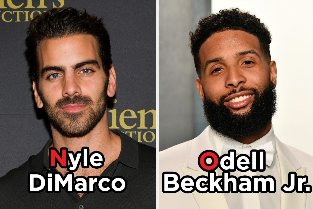 Nyle DiMarco and Odell Beckham Jr.