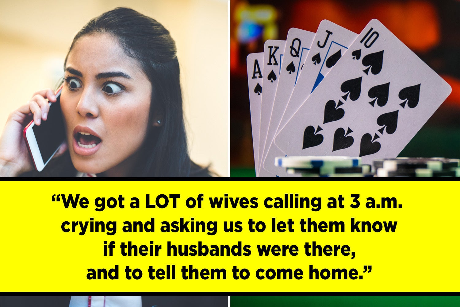 14 Secrets And Stories From People Who Have Worked At Casinos