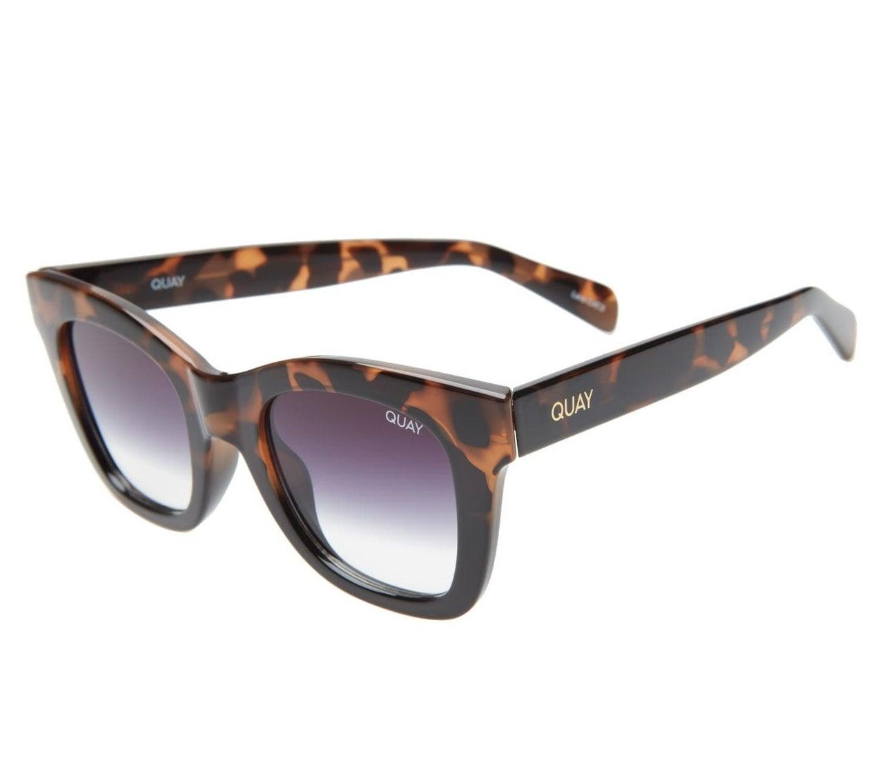 the tortoise sunglasses