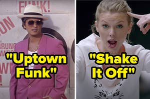 """""""Uptown Funk"""" and """"Shake It Off"""""""