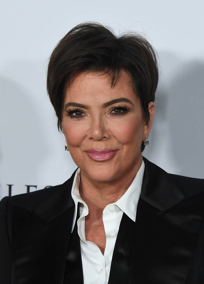 Kris Jenner at the Los Angeles Ballet Gala in February 2020