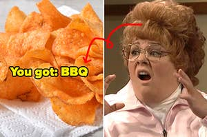 Chips and Melissa McCarthy