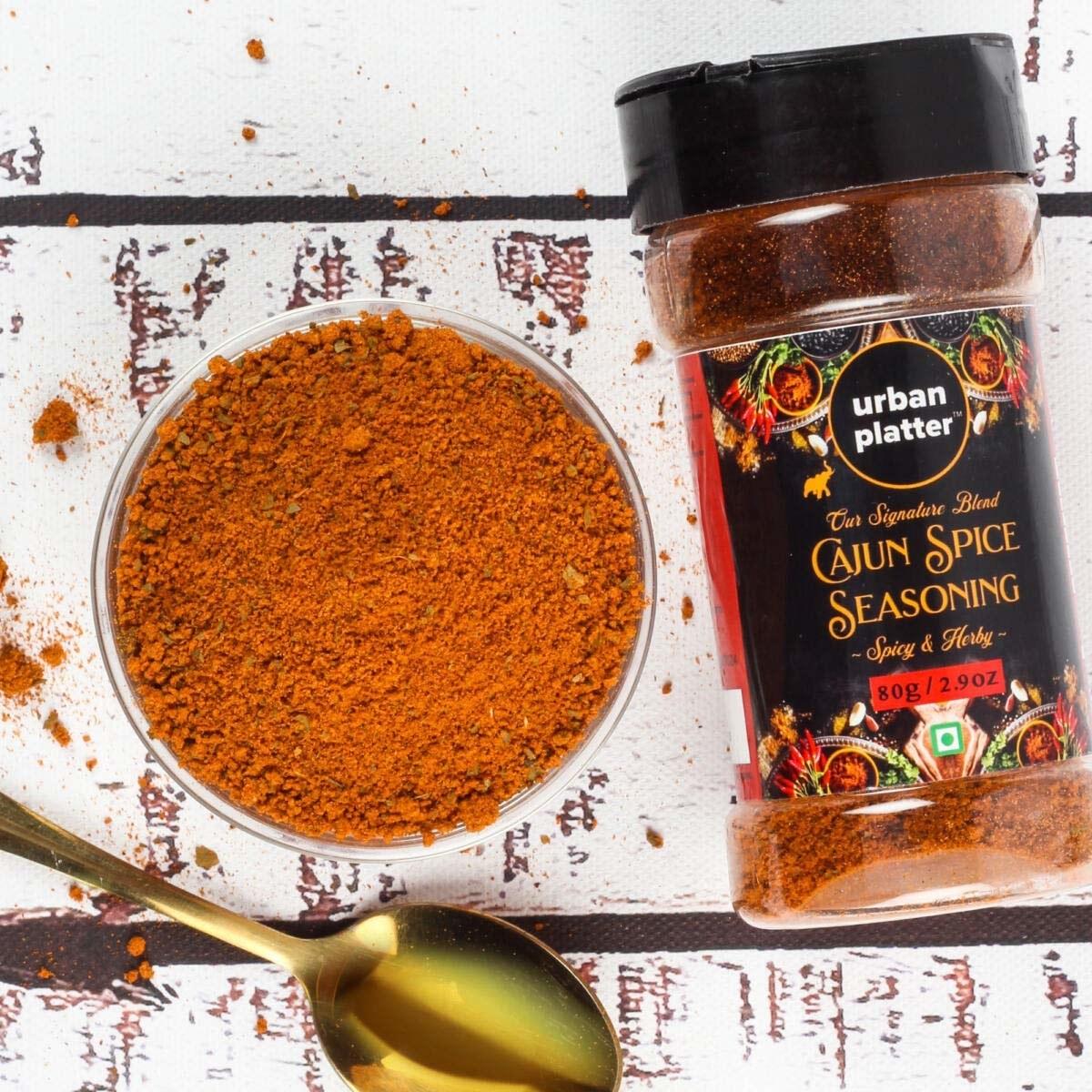 Cajun spice seasoning in a bowl