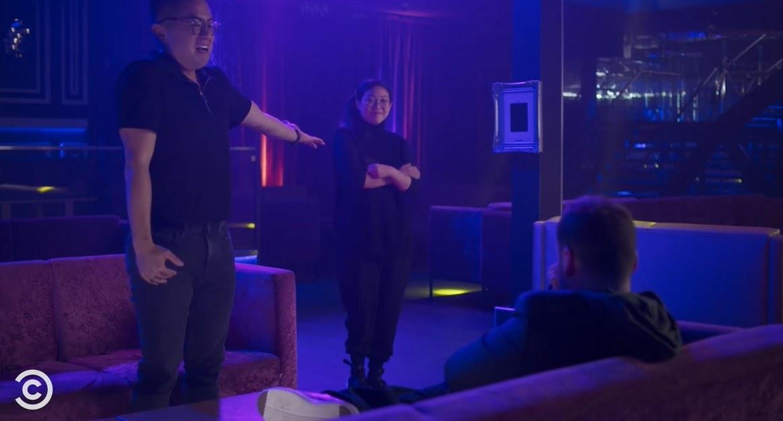 Edmund introducing Nora