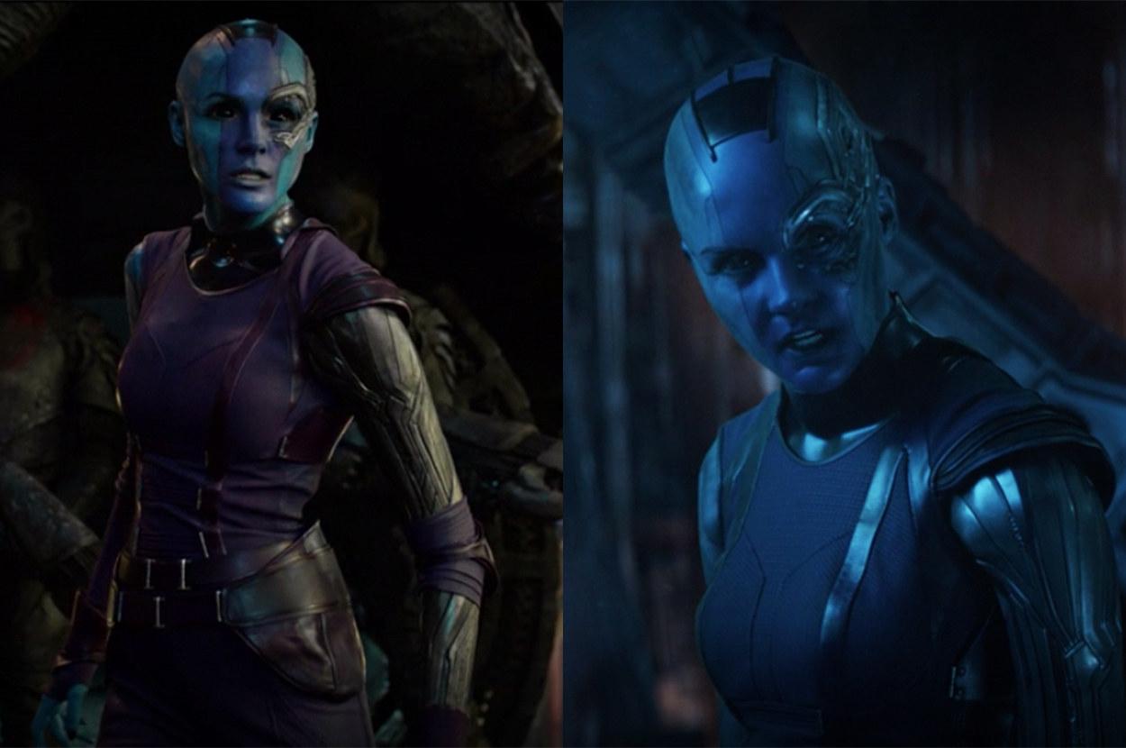 Nebula got some cyborg upgrades