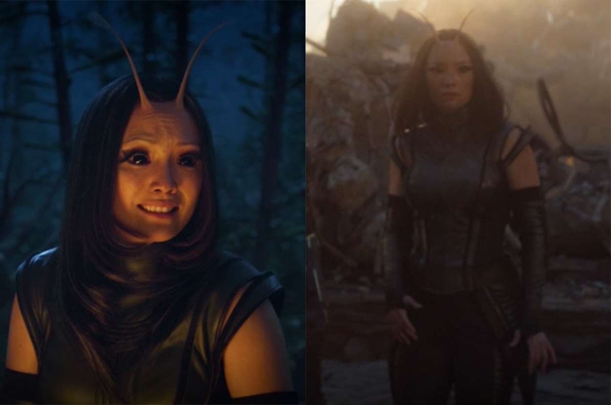Mantis's costume got a slight upgrade
