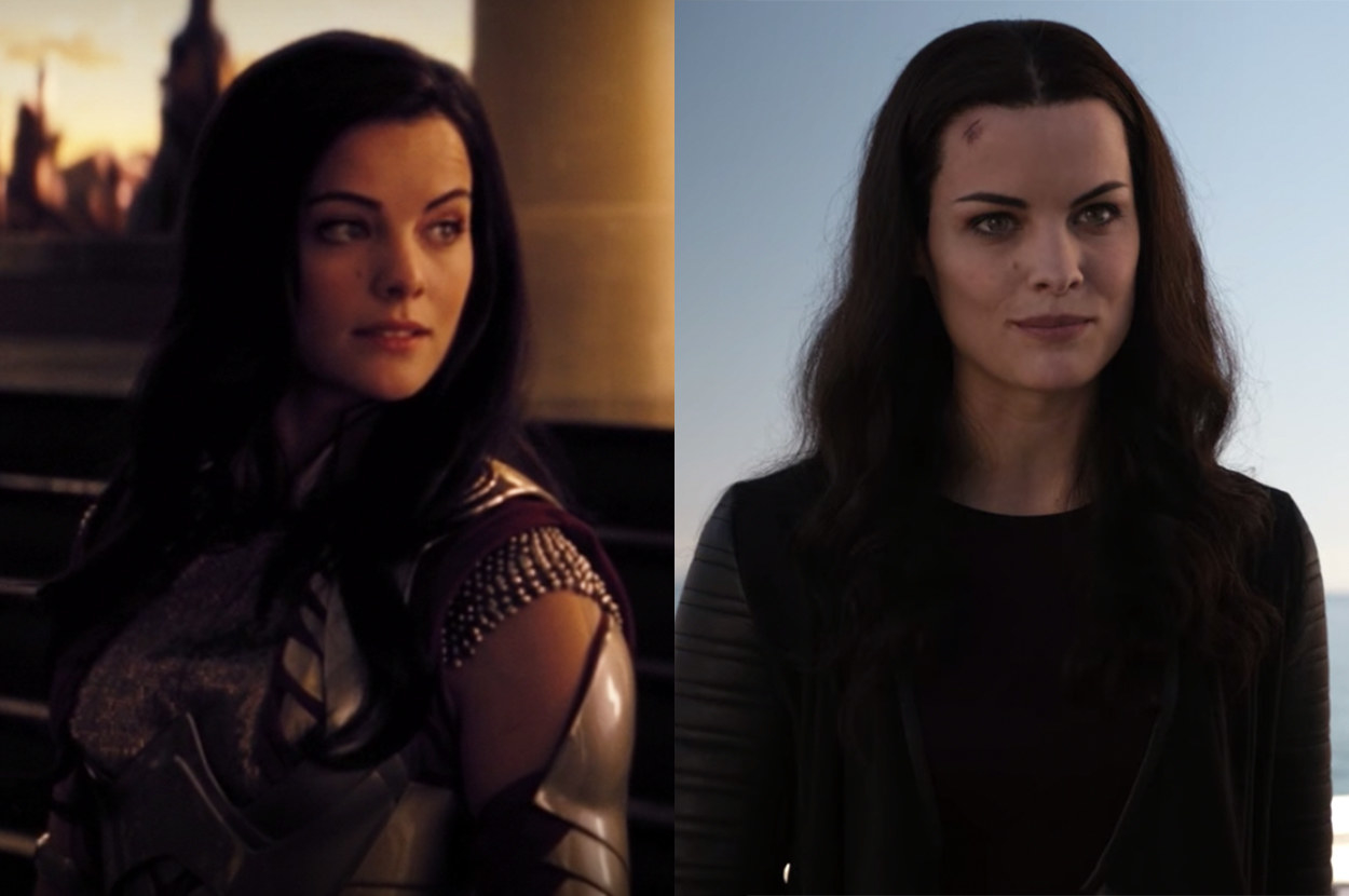 Sif wore medieval armor in Thor and modern clothes on Agents of Shield