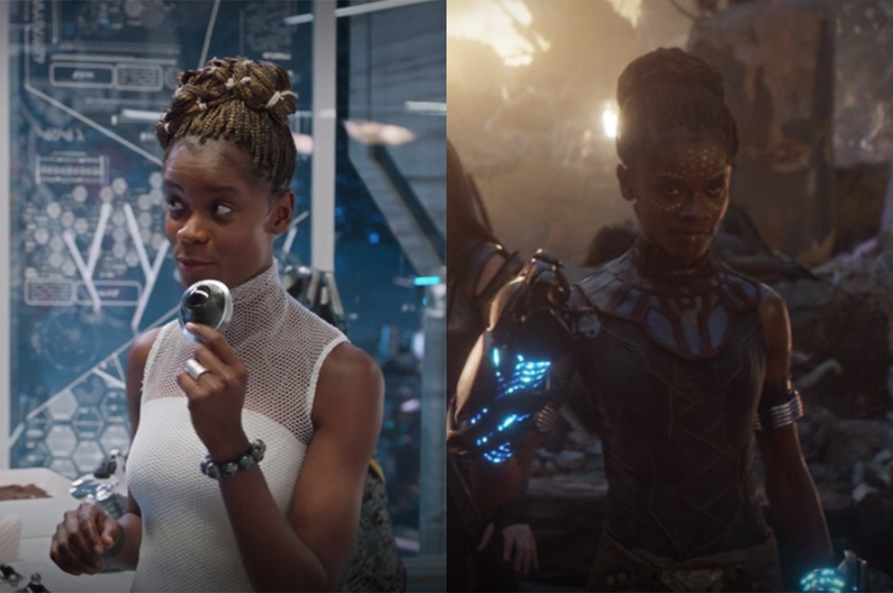 Shuri was a scientist in her first movie but a warrior in the second