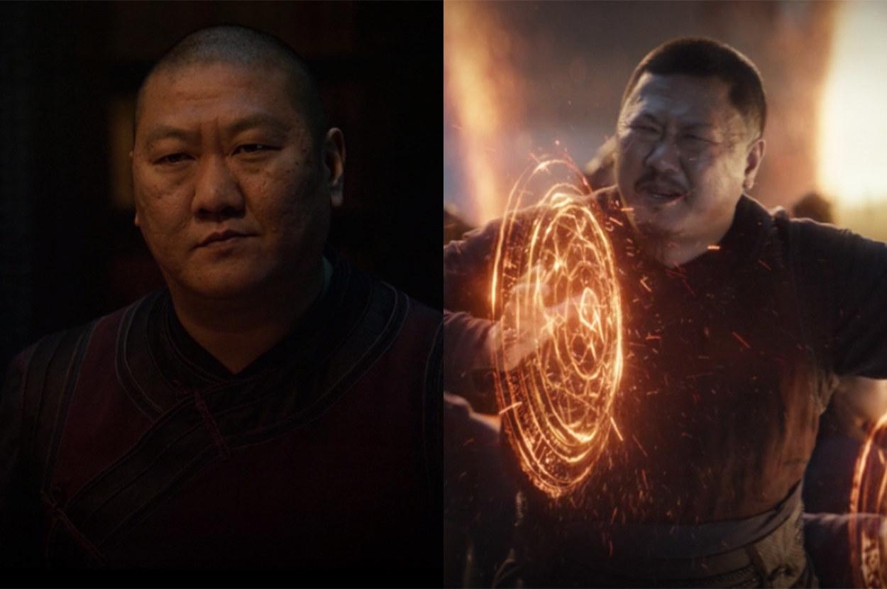 Wong grew facial hair for Endgame
