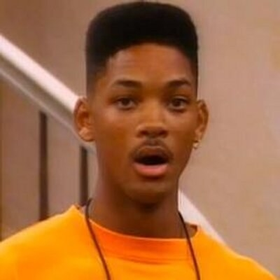 Will Smith in shock