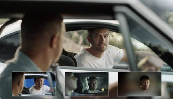 CGI used to bring back Paul Walker to the film