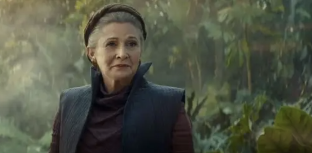 Fisher in Rise of the skywalker