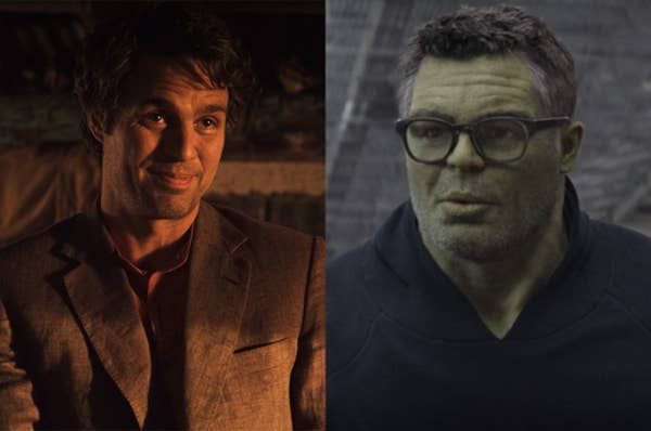 By his last movie, Bruce had achieved a permanent, peaceful Hulk state