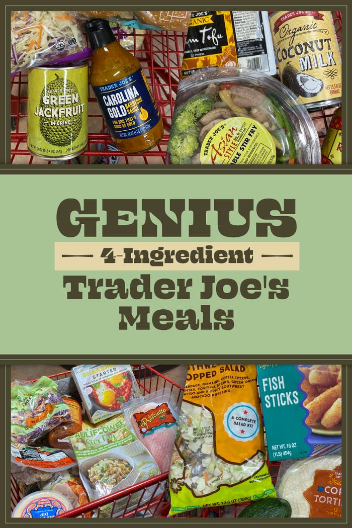Genius 4-Ingredient Trader Joe's Meals