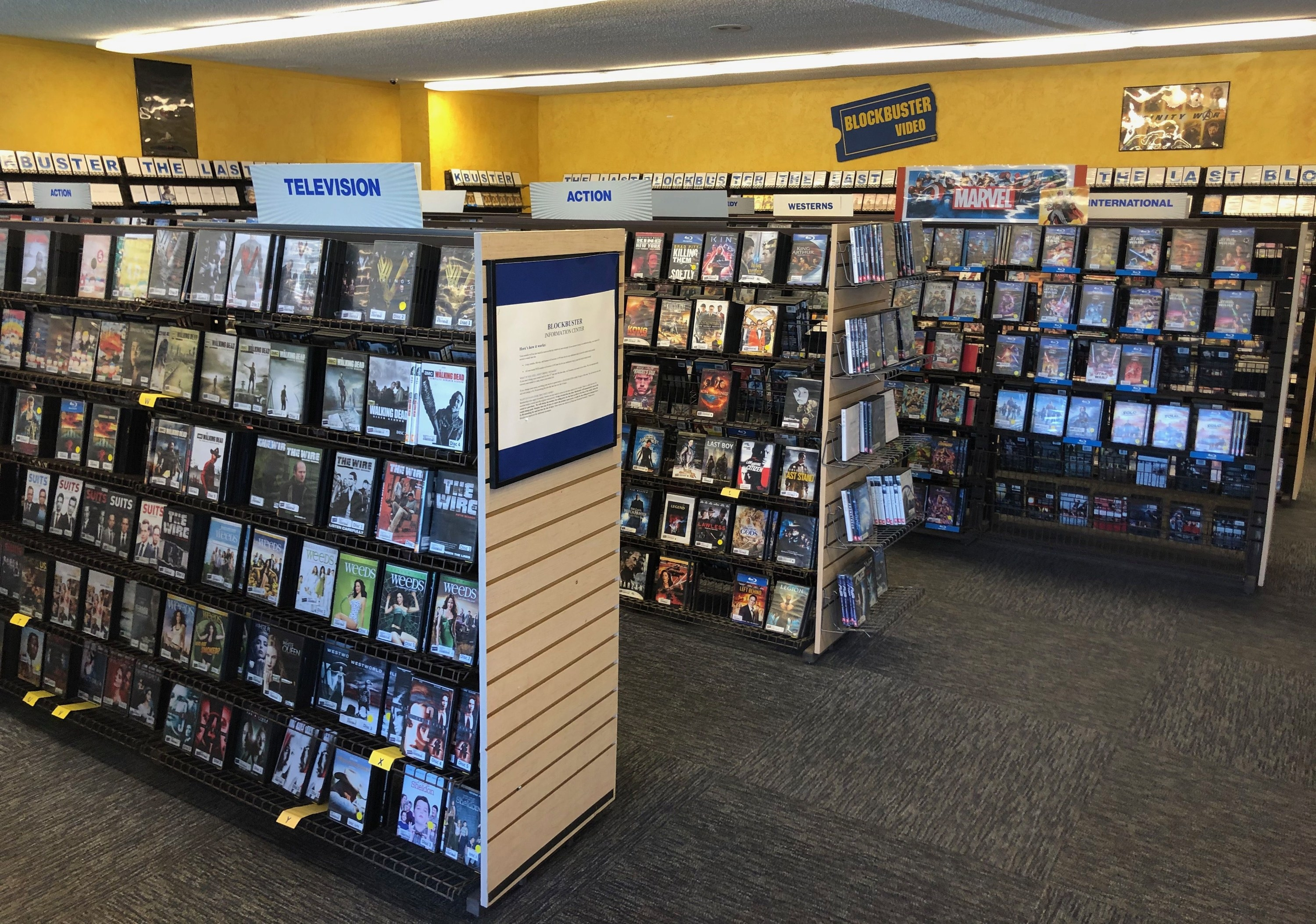 inside a blockbuster