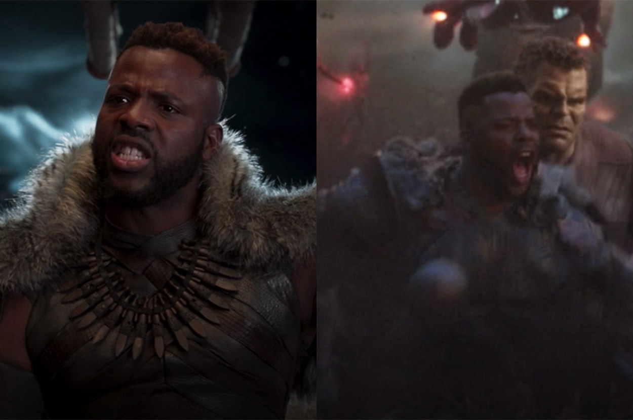 M'baku fought in the final battle against Thanos