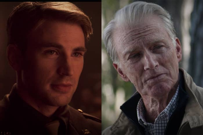 Steve grew elderly by the end of his final film