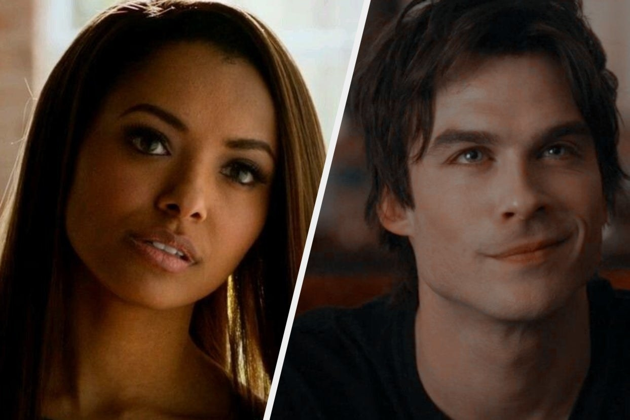 """Bonnie and Damon from """"Vampire Diaries"""""""