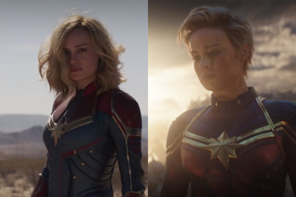 Carol looks powerful with her pixie cut in Endgame
