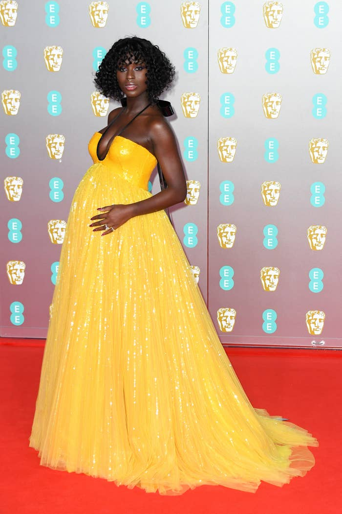 Jodie Turner-Smith at the 2020 British Academy Film Awards
